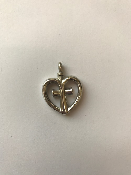 Style #198SS  Sterling silver love cross  $125.00