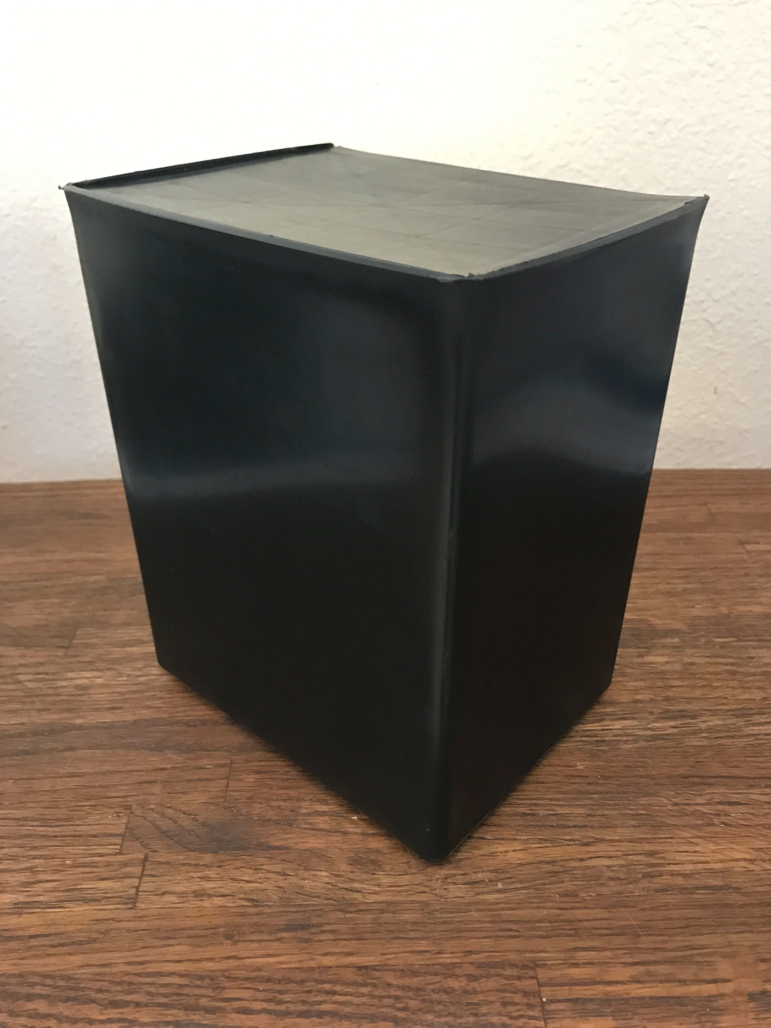 One black plastic urn included in direct cremation cost