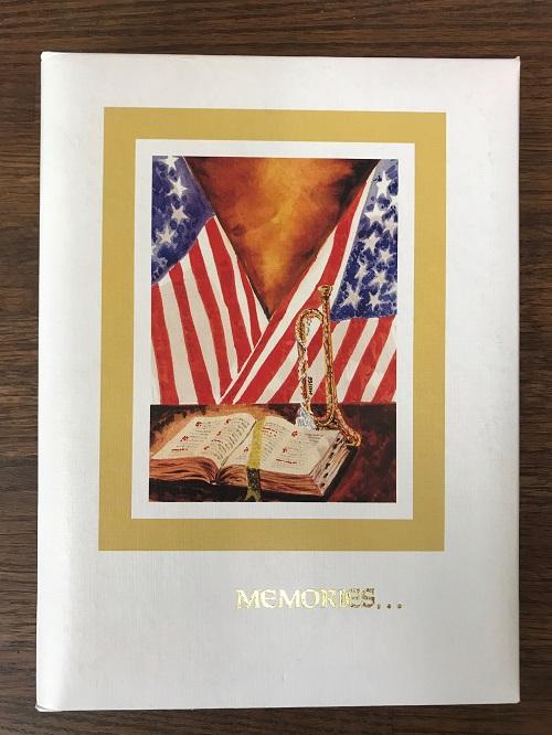MI7 BIBLE FLAG  $30.00