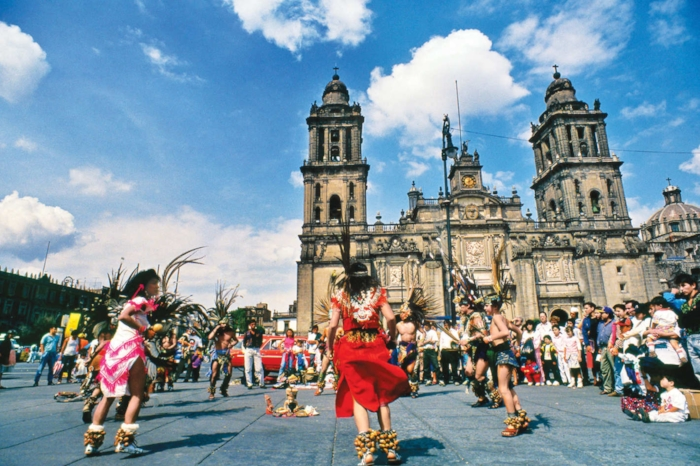 Zócalo, Mexico City. Photo: Alamy