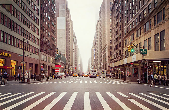 MIDTOWN MANHATTAN, NYC.