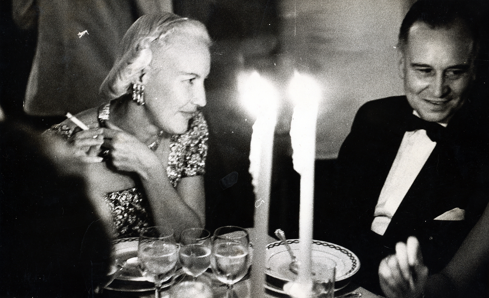 Alletta MacDonald (later McBean) and Robert Gardiner, c. 1960