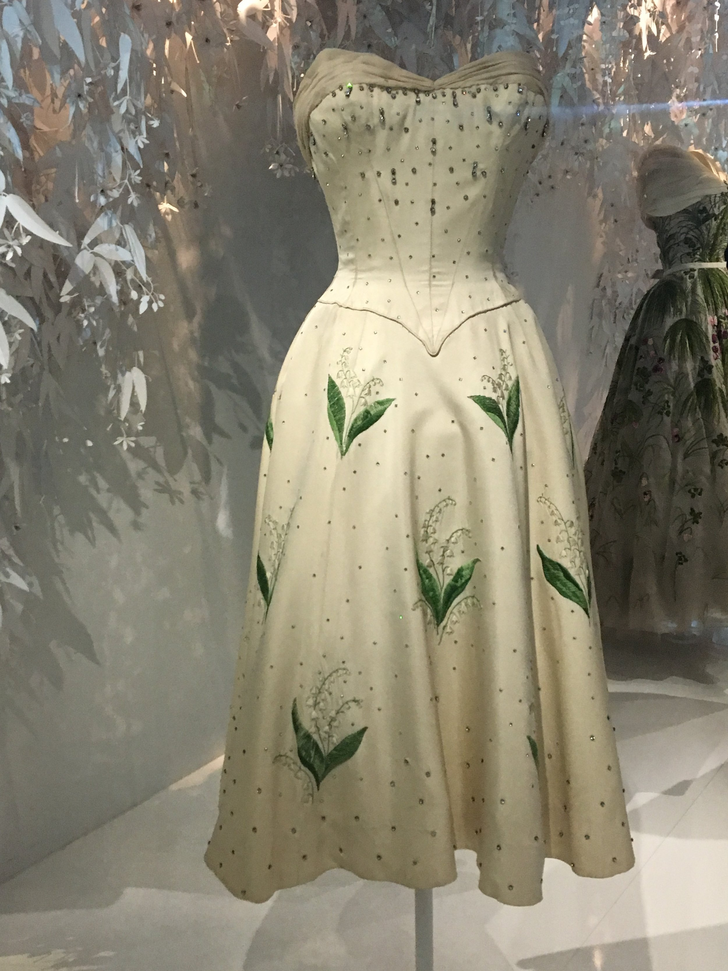 Christian Dior designed for 'Paris, Palace Hotel', 1956