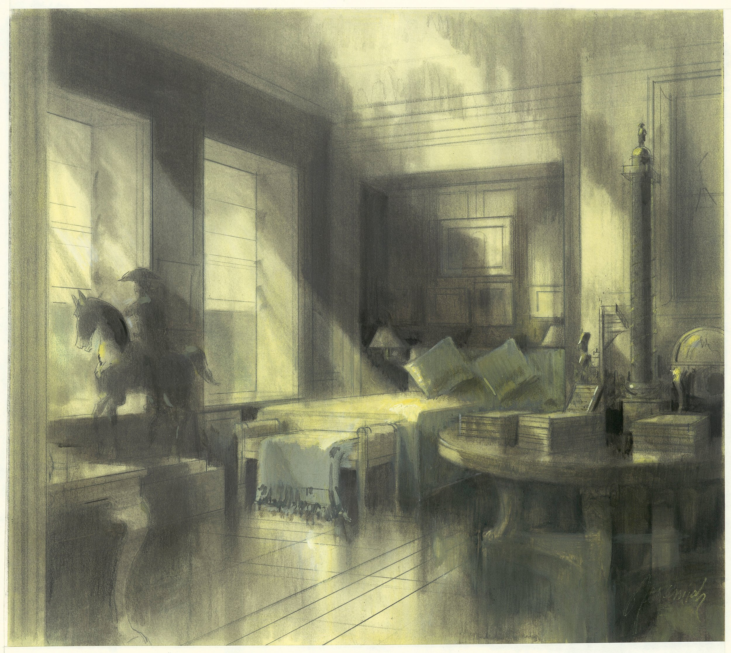 Bill Blass' Manhattan apartment