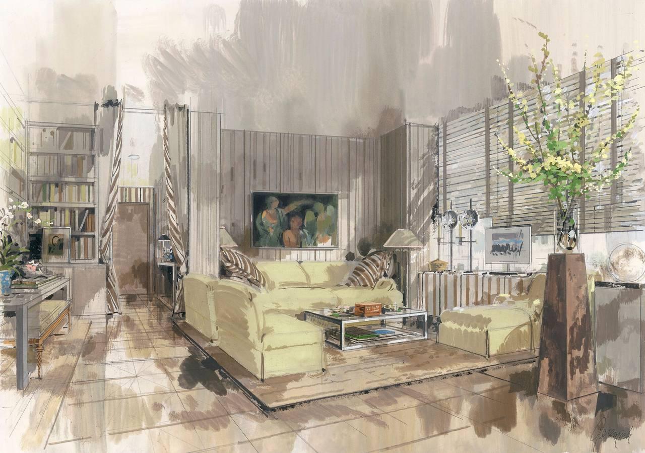 The Manhattan apartment Of Albert Sardelli