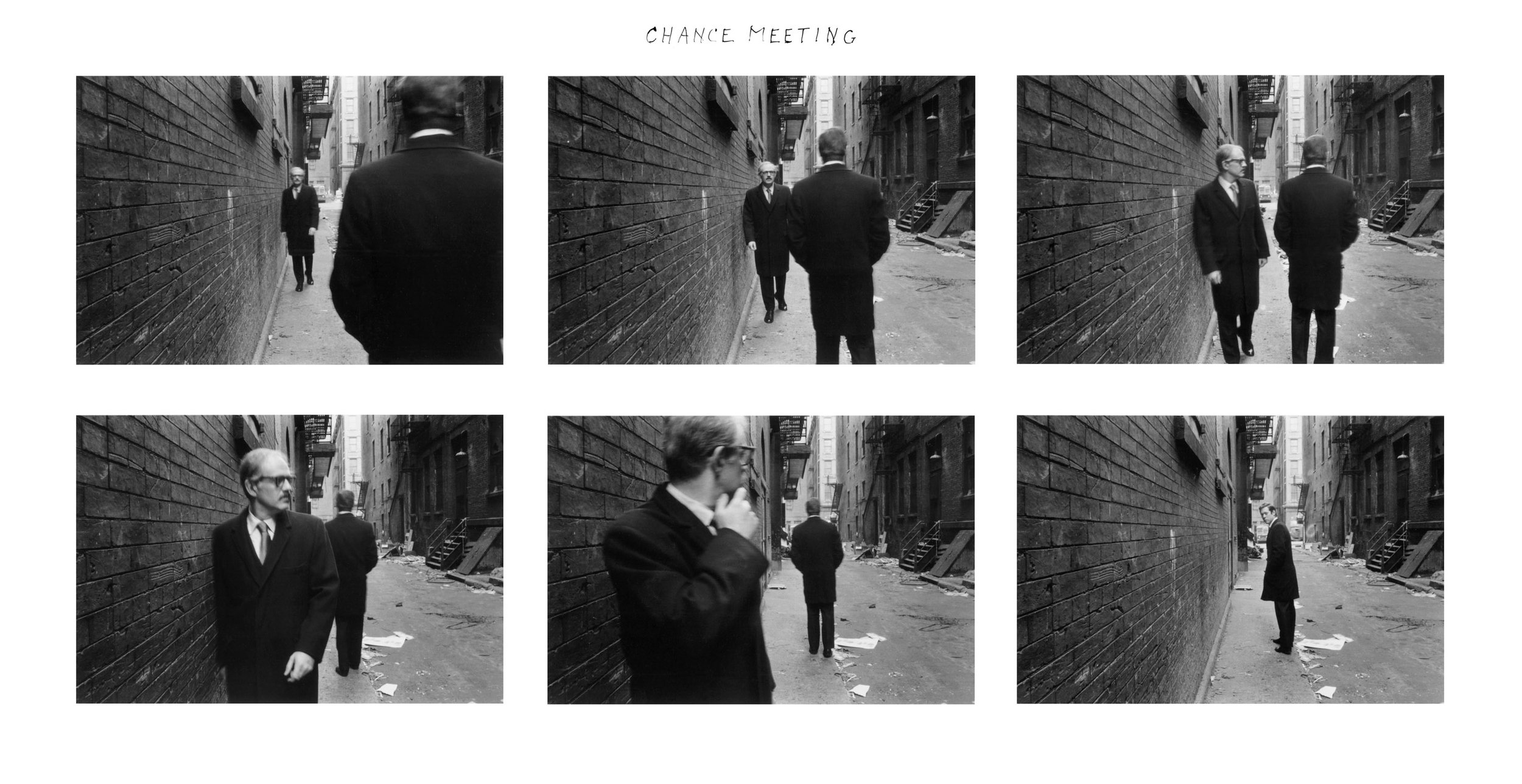 """Chance Meeting,"" 1970."