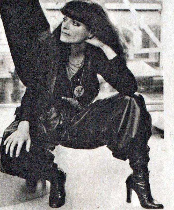 Norma Kamali. WWD, February 13, 1976.