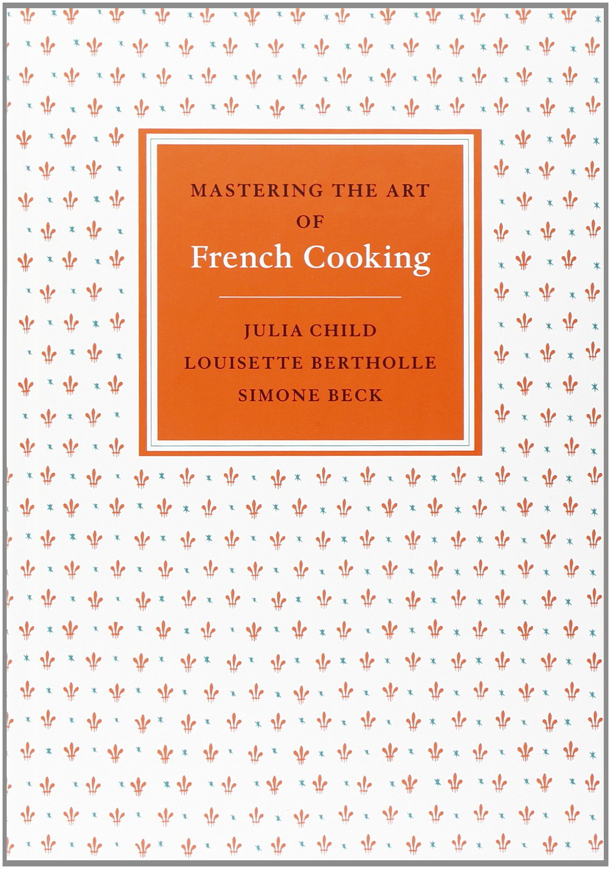 "Two-volume set of Julia Child's ""Mastering the Art of French Cooking"""