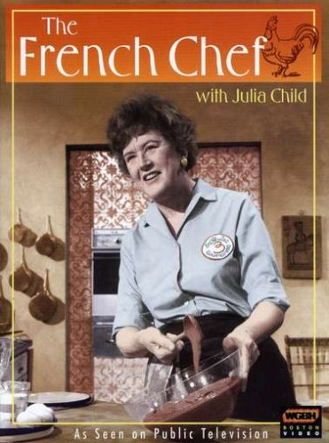 """The French chef with Julia Child"""