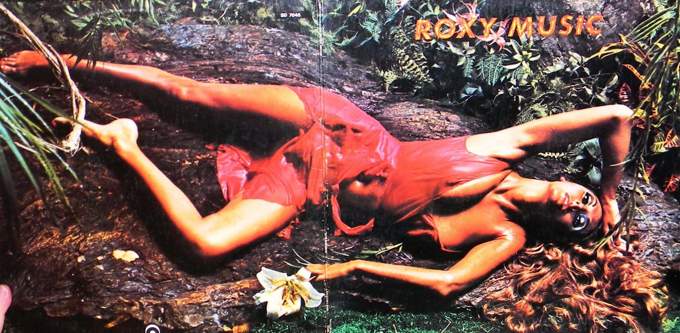 "Roxy Music's ""Stranded"" gatefold sleeve, 1973."