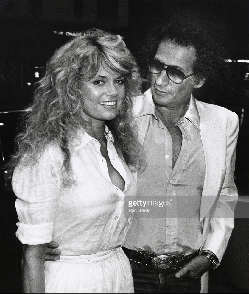 Dyan Cannon and Jerry Schatzberg at the 'Honeysuckle Rose' premiere party, 1980.