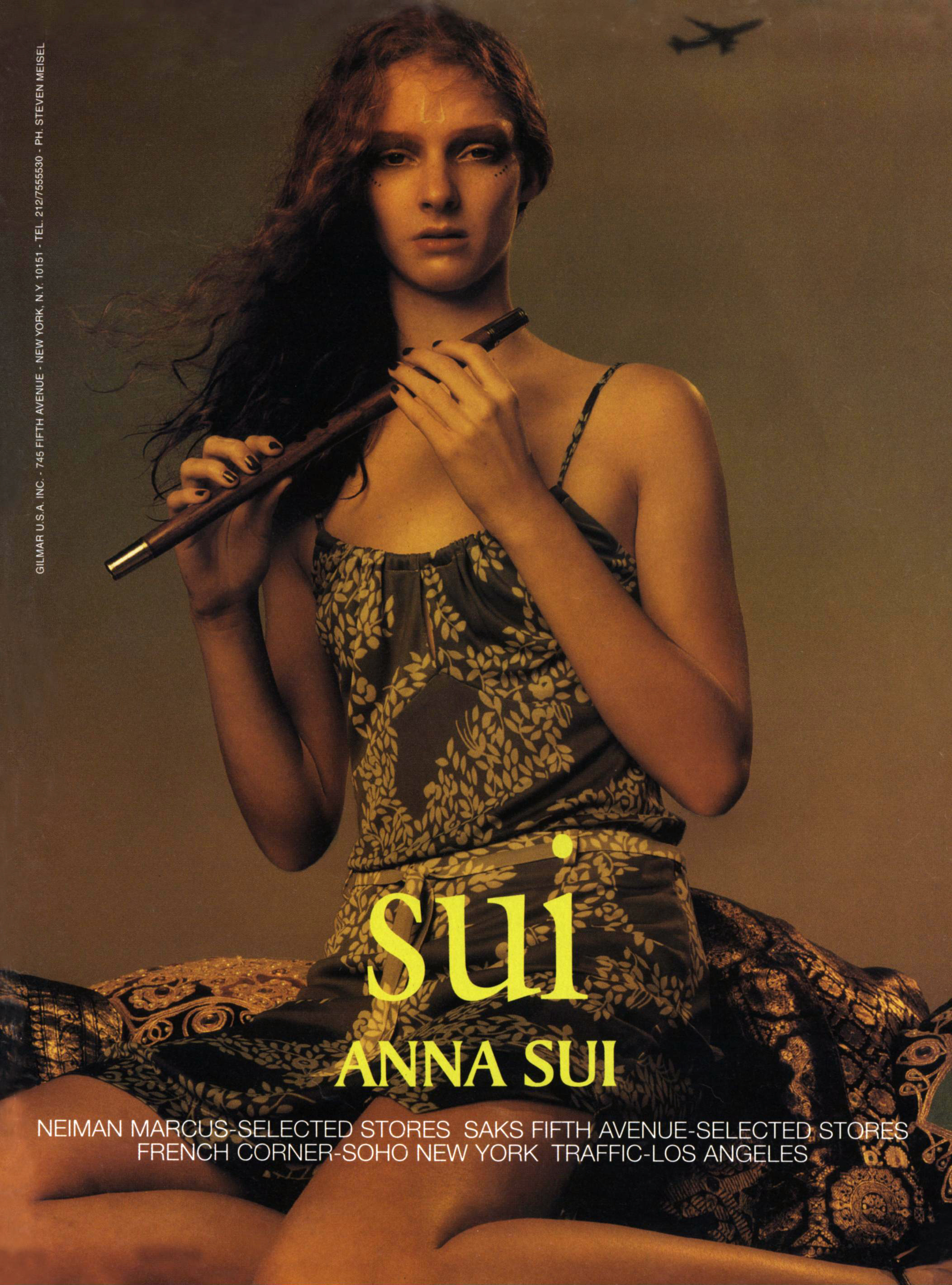 """An ad for """"Sui"""", her diffusion line, for spring 1998."""