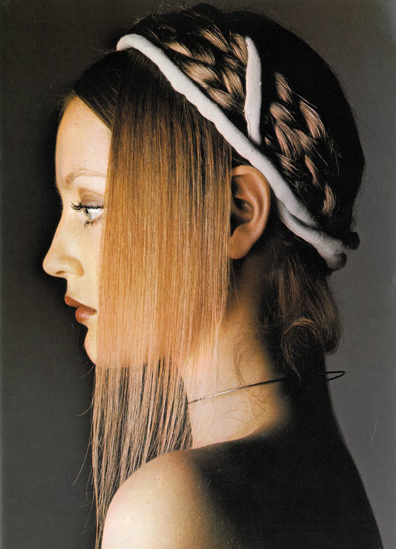 Ingrid by Barry Lategan for Vogue UK, September 1970.