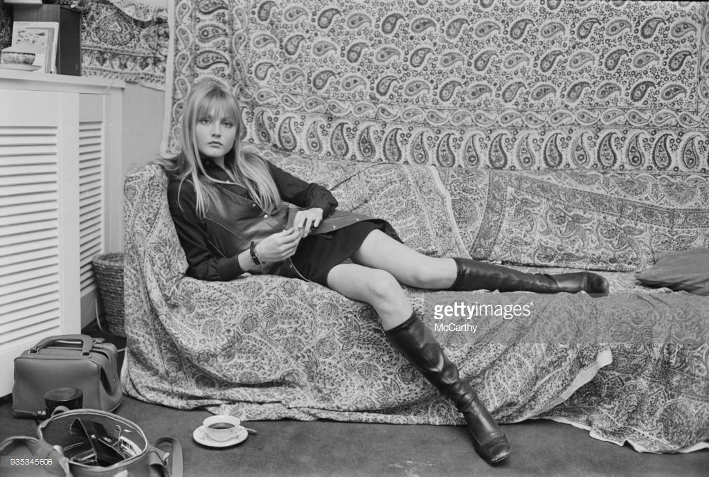 At home in London on August 22nd, 1968.