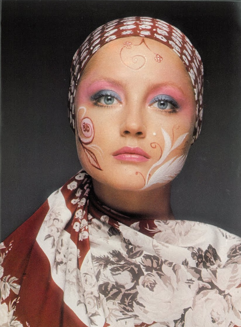 Ingrid Boulting photographed by David Bailey for Vogue UK, September 1970.