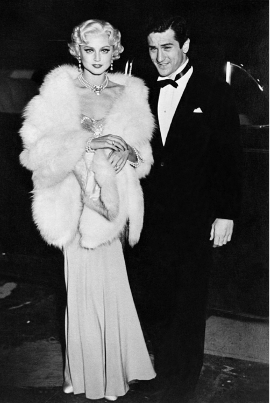 With DeNiro in 'The Last Tycoon.'