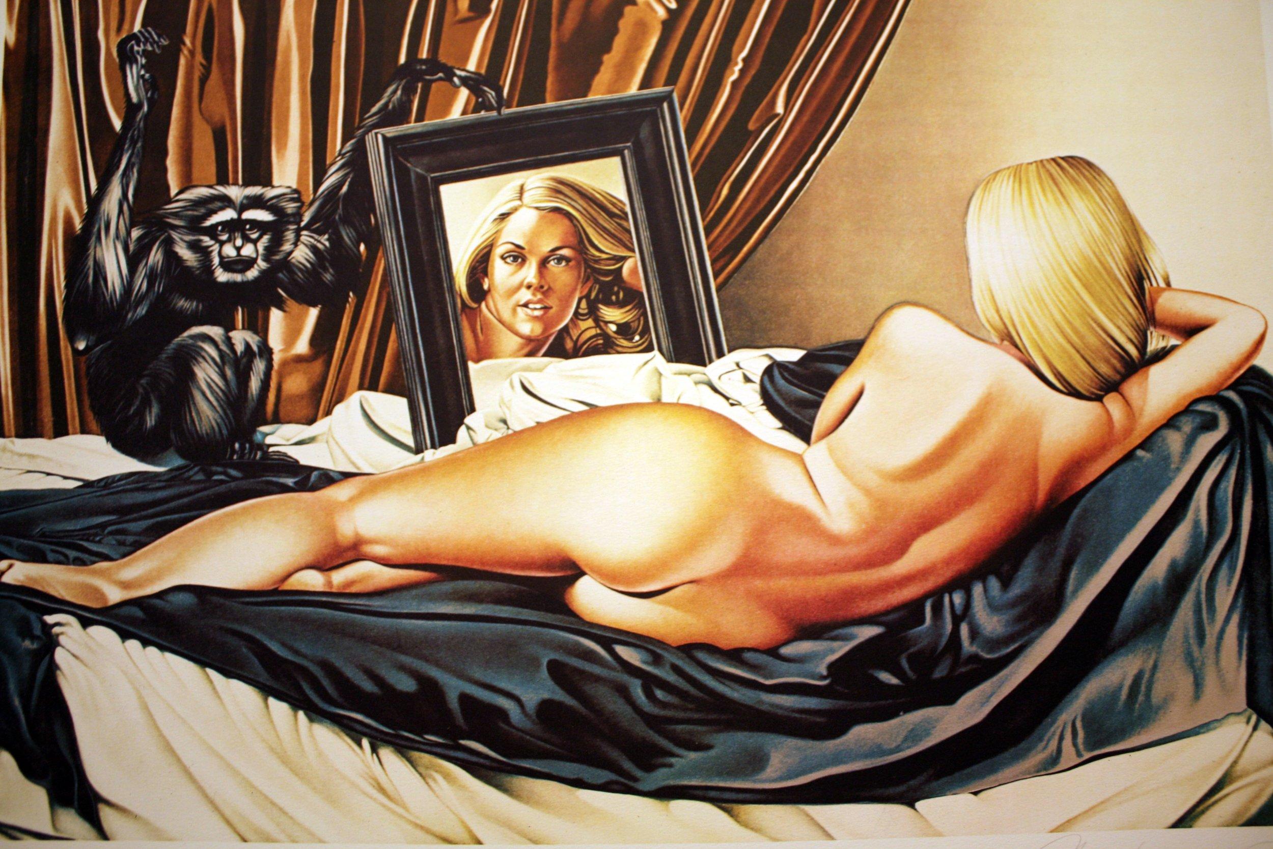 """""""Velázquez Version,"""" 1974."""