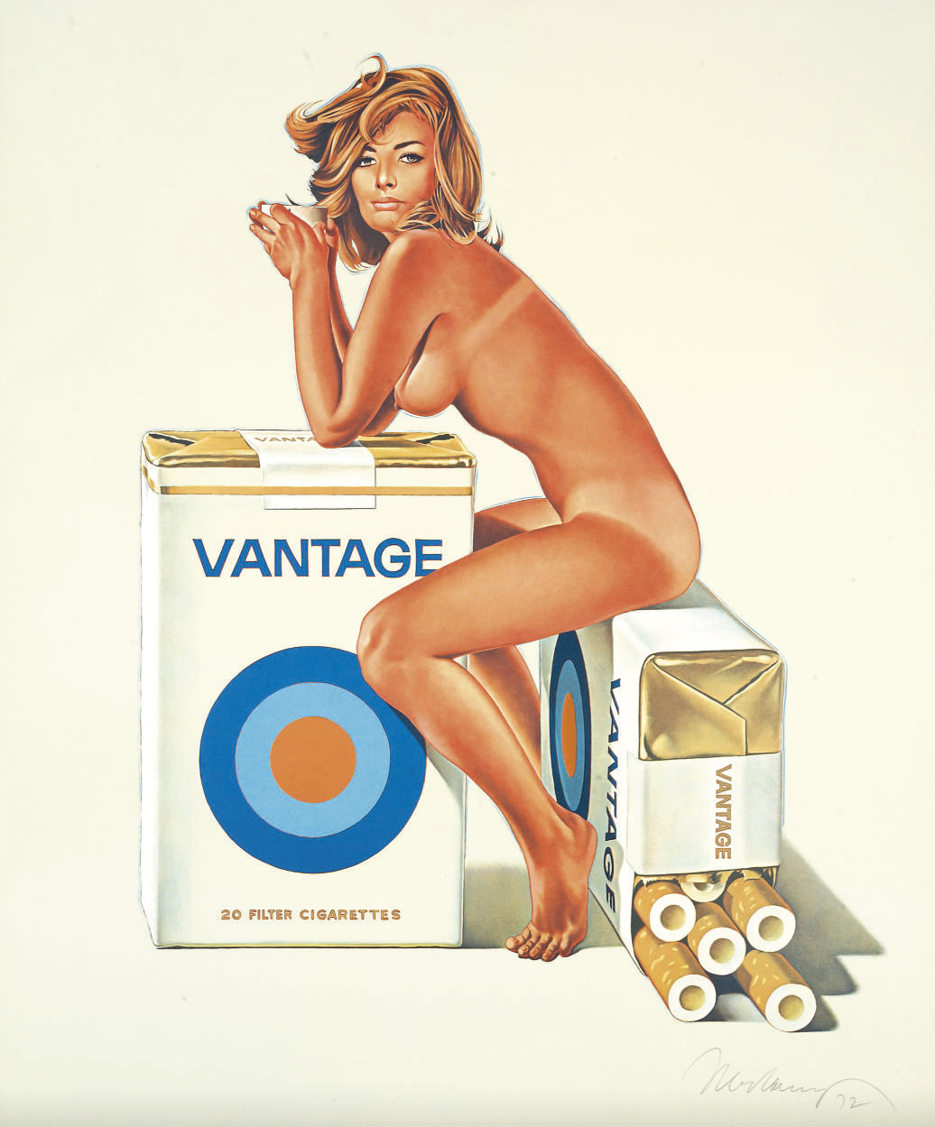 """""""Tobacco Red,"""" 1971."""