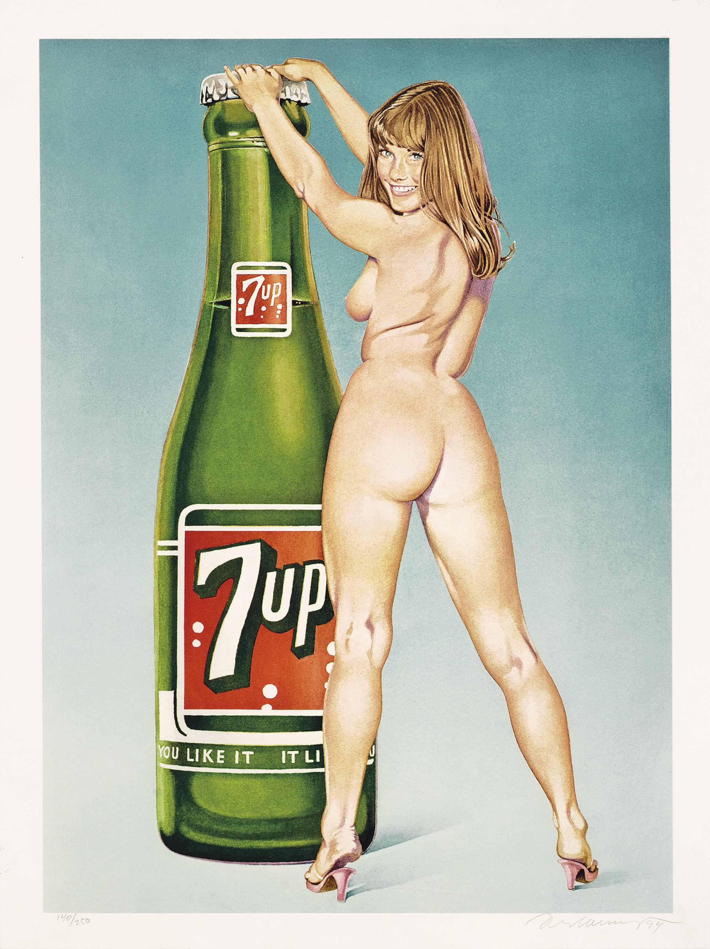 """""""You Like it - it Likes you (7Up),"""" 1994."""