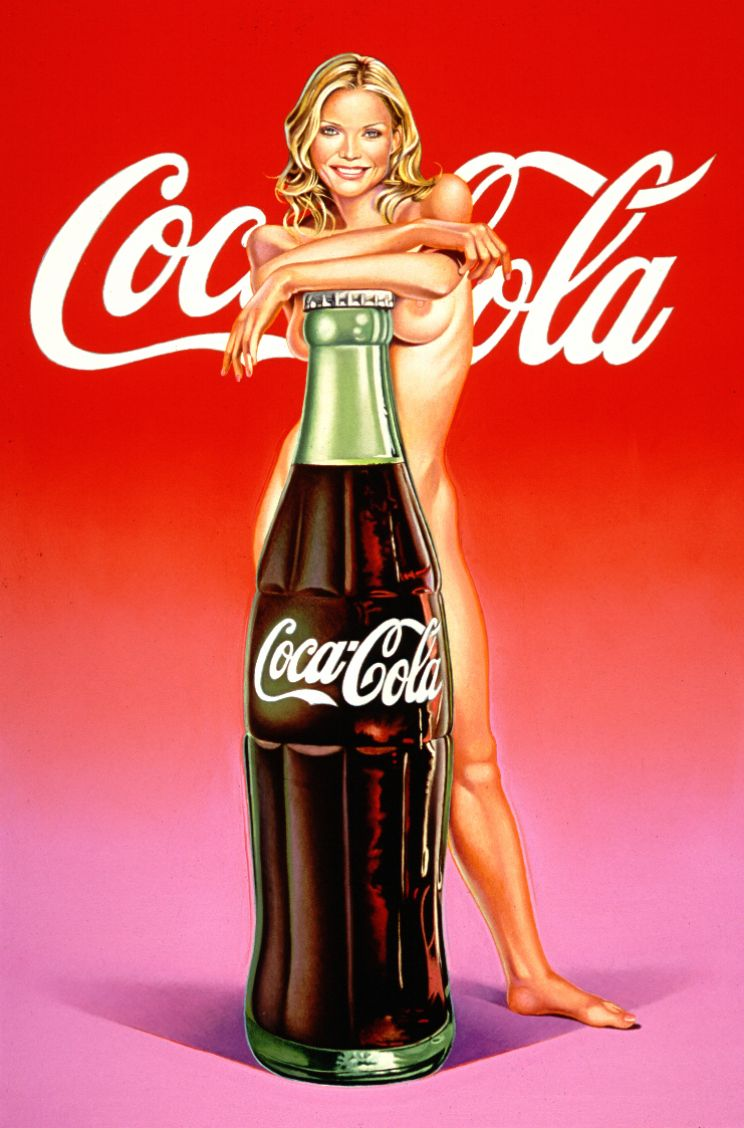 """""""Lola Cola #4: The lost painting of 1965 #37,"""" 2004."""