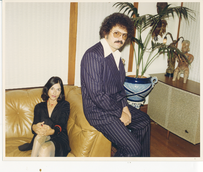 Mel and Lena Ramos at their home in Rockridge, California, in 1978.