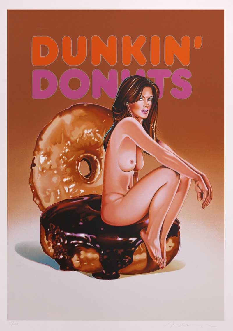 """""""Dunkin' Donut Doll: The lost painting of 1965 #53,"""" 2005."""