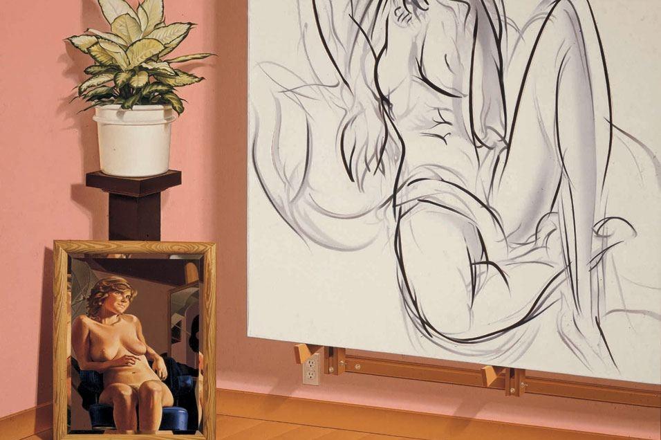 """The Artists Studio #1,"" 1987."