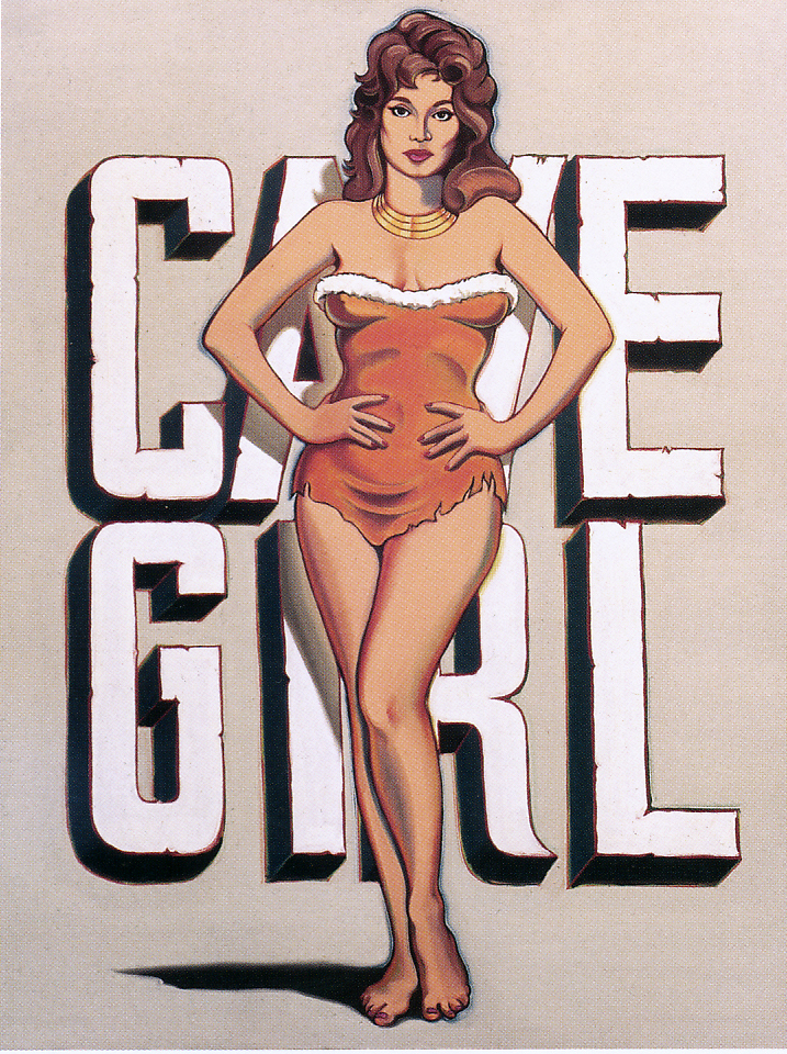 """""""Cave Girl,"""" 1964."""