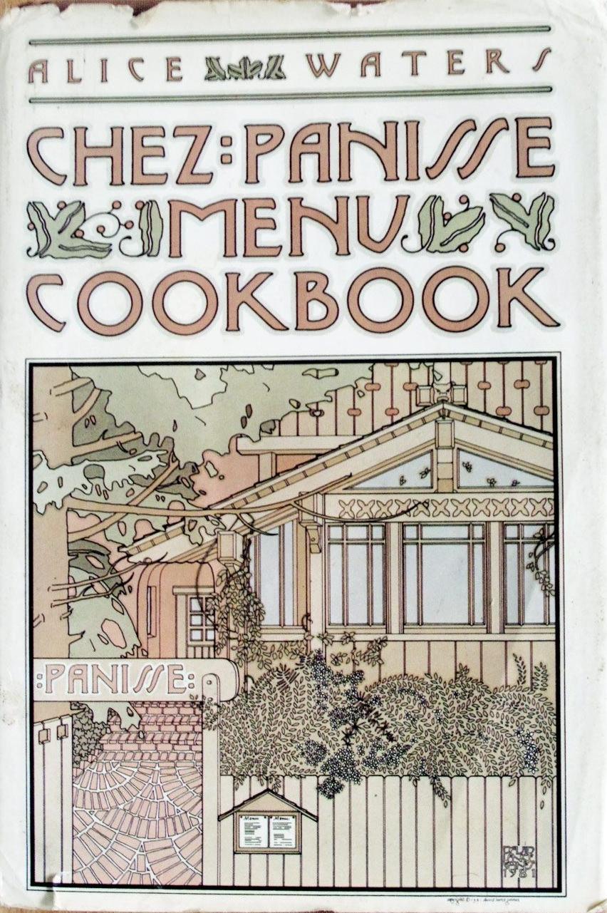 'Chez Panisse Menu Cookbook' (1982)  $15