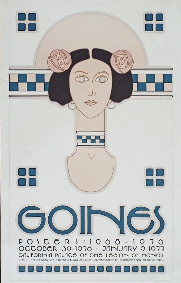 'David Lance Goines Poster Book' (1981)  $16