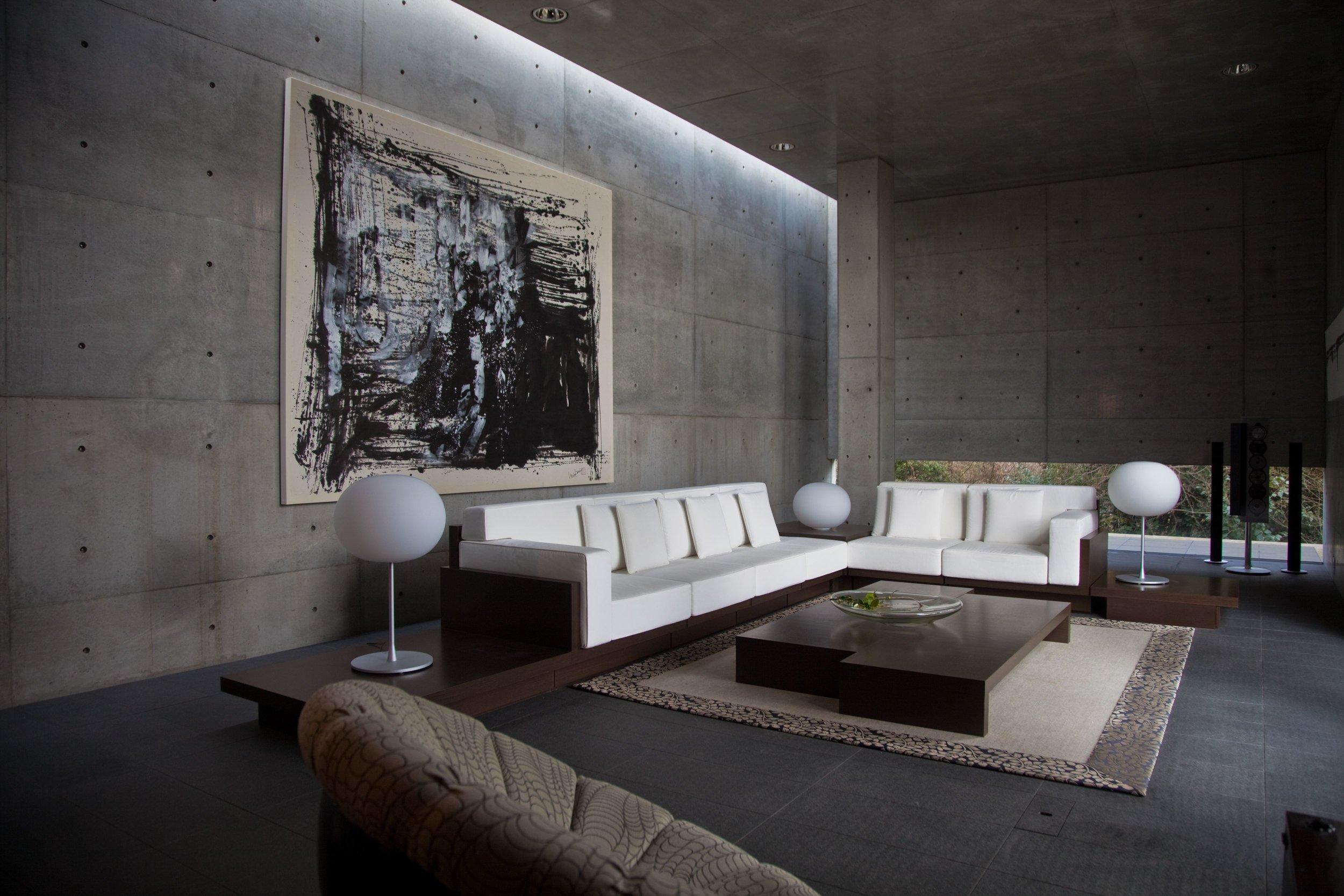 Koshino House by Tadao Ando. Courtesy of Hiroko Koshino. Photo by Michael Fraile, 2011.