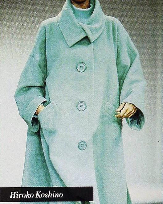 A coat by Hiroko Koshino, 1992.