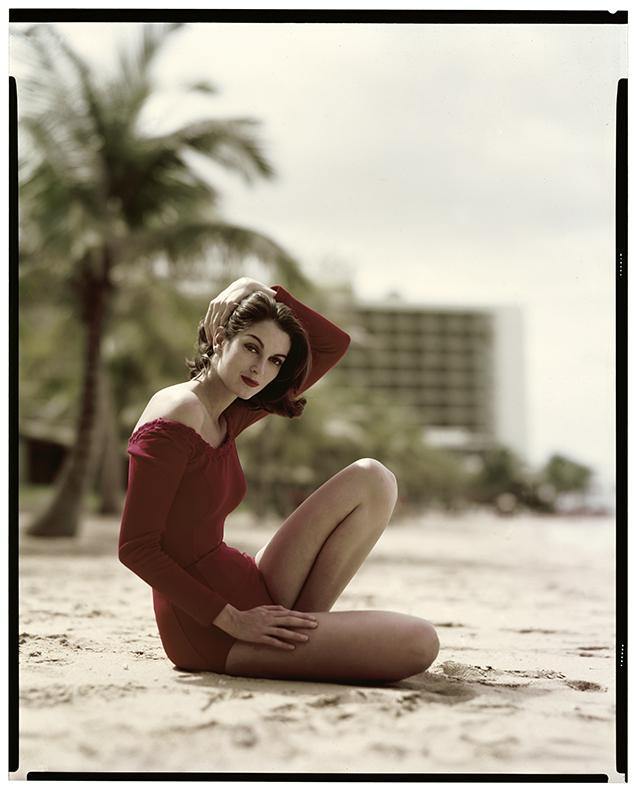 Carmen in Puerto Rico, October 1951