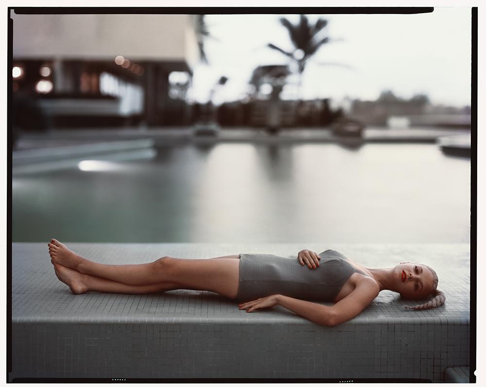 Rooftop pool at Caribe Hilton Hotel, Puerto Rico, 1951