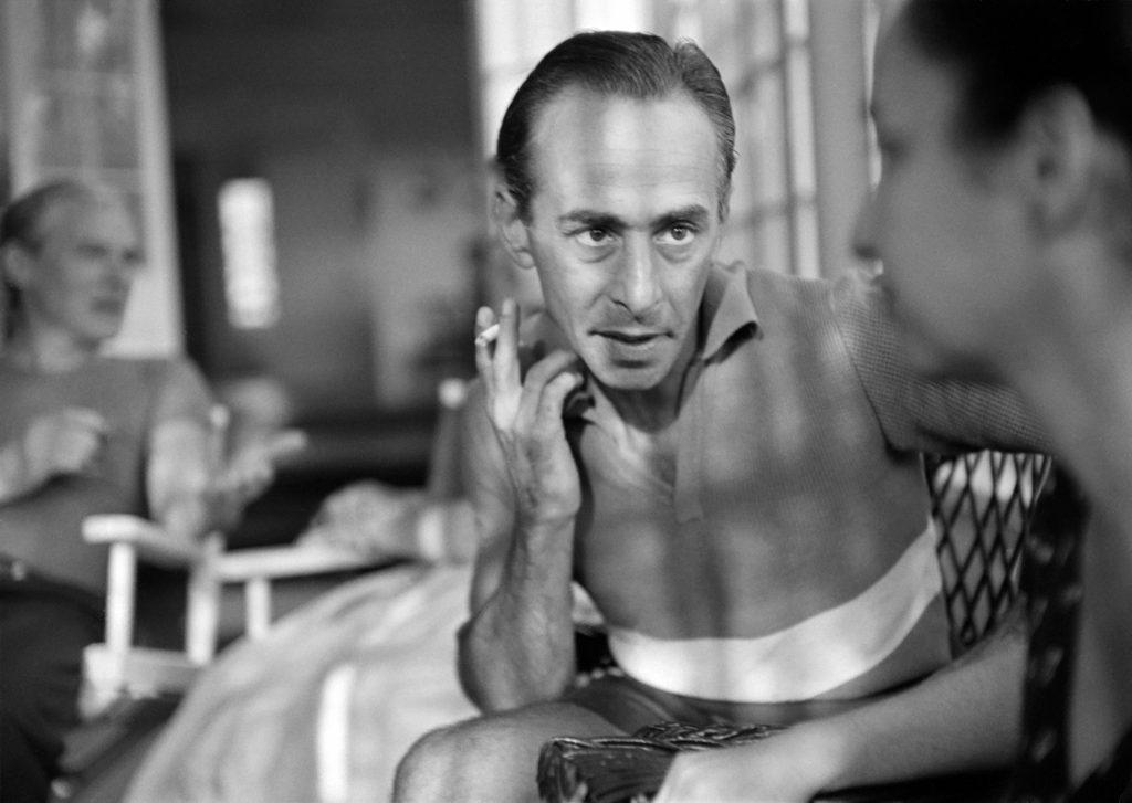 Leo Castelli in East Hampton, 1953