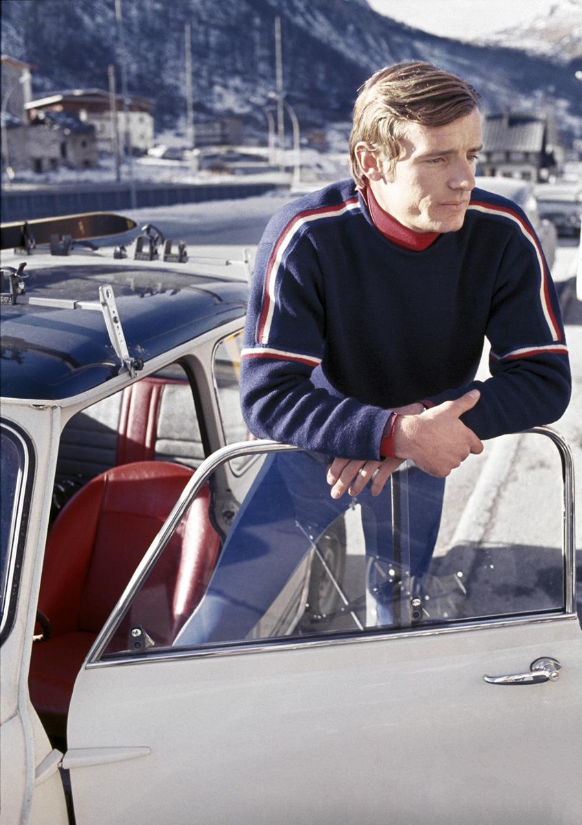 Jean Claude Killy, and Alpine Ski Racer in Switzerland, 1967