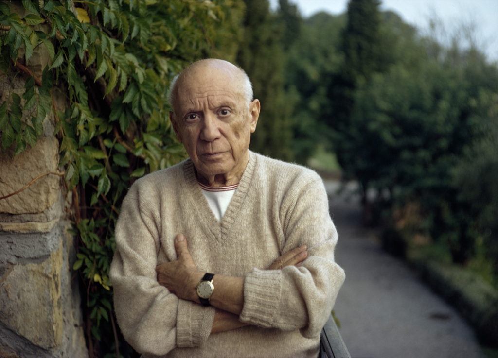 """""""     Pablo Picasso, Mougins, France, 1966"""" Price upon request"""