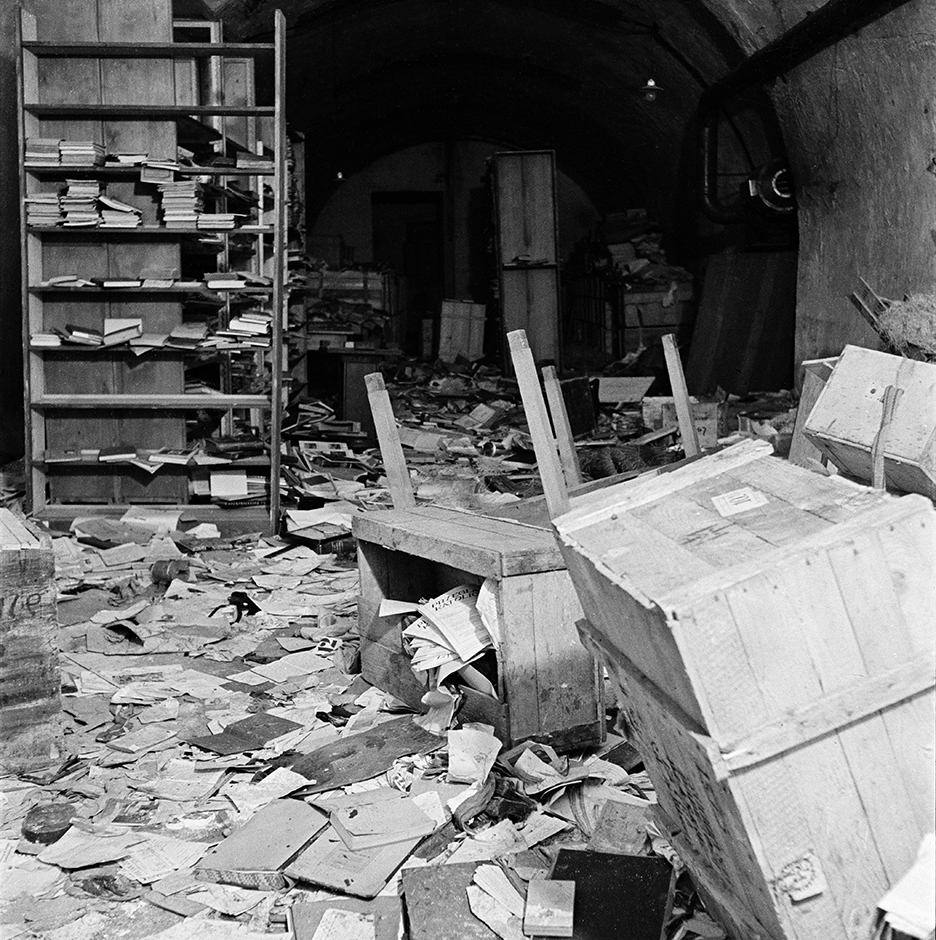Former Hitler headquarters, 1945
