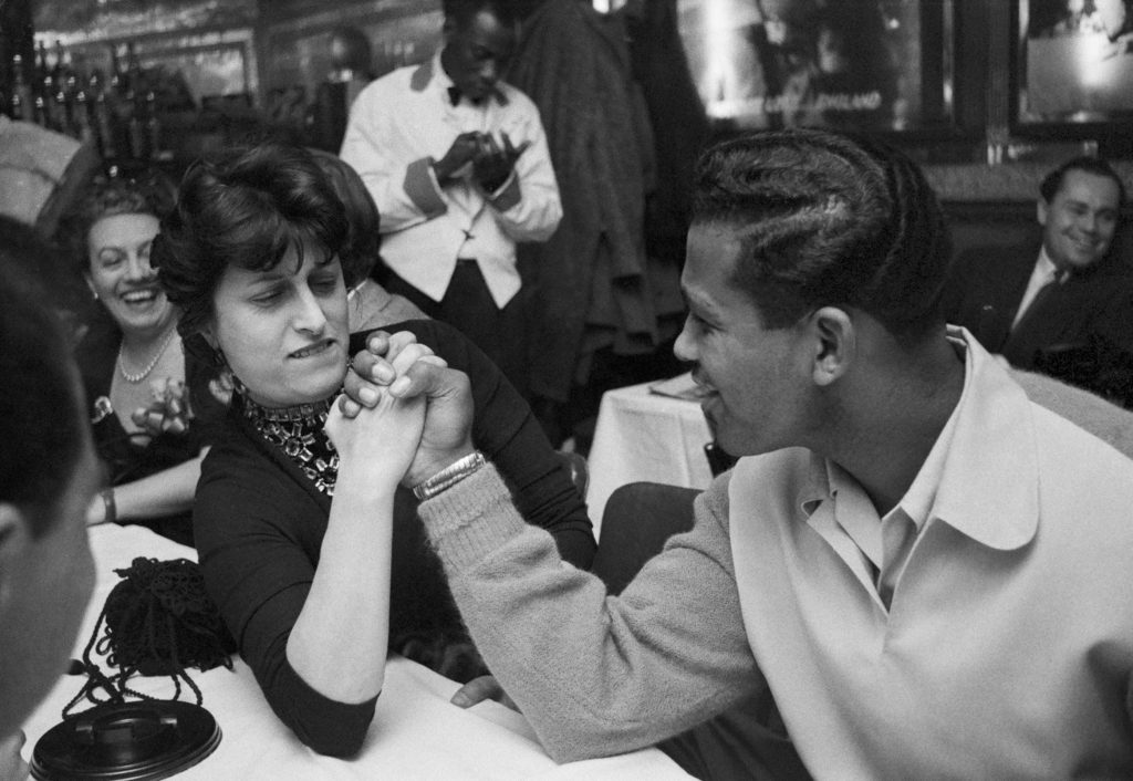 Sugar Ray Robinson and Anna Magnani, Harlem NYC 1953