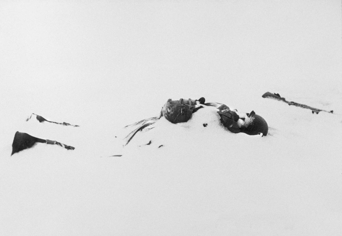 White Death: Pvt. Henry Irving Tannenbaum, Ottre, Belgium, January 1945.