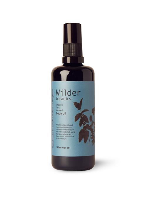 Wilder Botanics Organic Herb Infused Body Oil £35