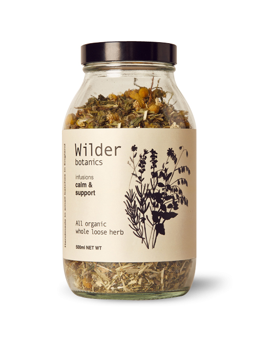 Wilder Botanics Infusions Calm & Support £15