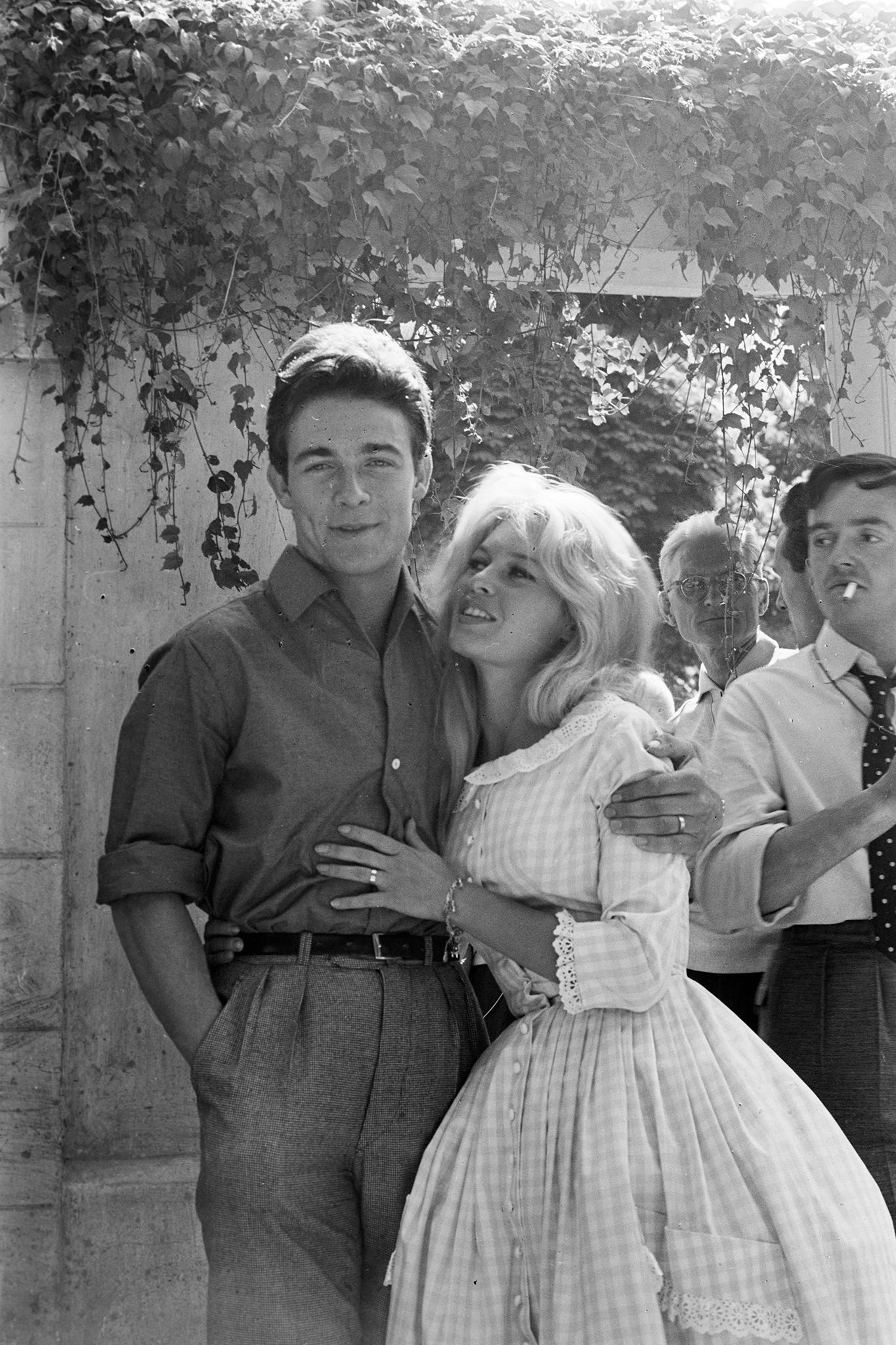 Brigitte Bardot's marriage to actor Jacques Charrier.jpg