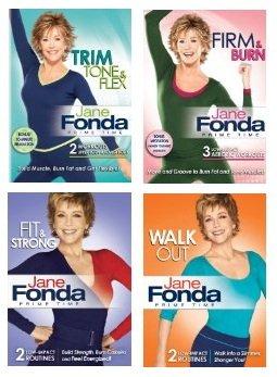 Jane Fonda Prime Time DVD Collection $30
