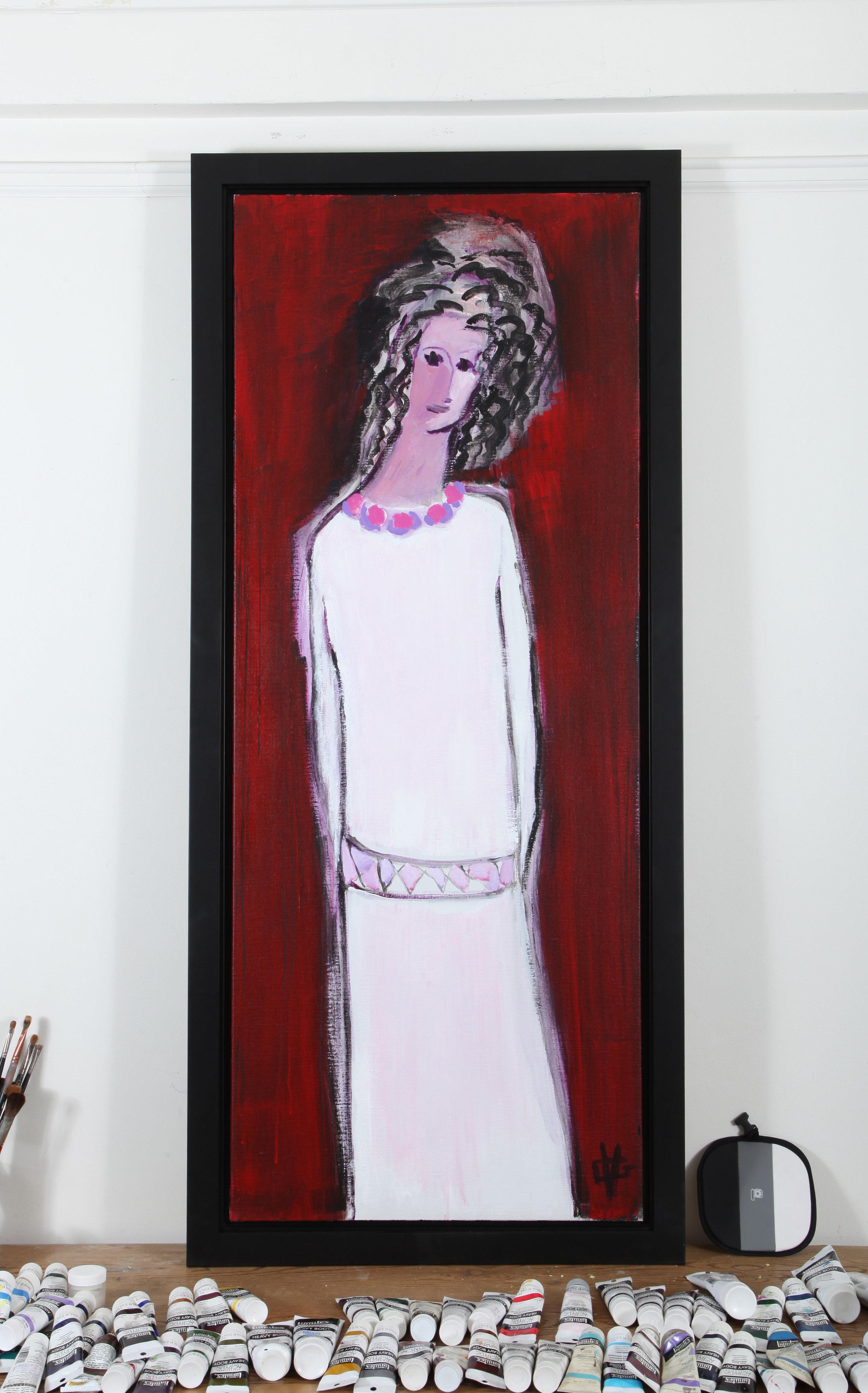 'Joyce Carol Oates As Heroine' by Gloria Vanderbilt.