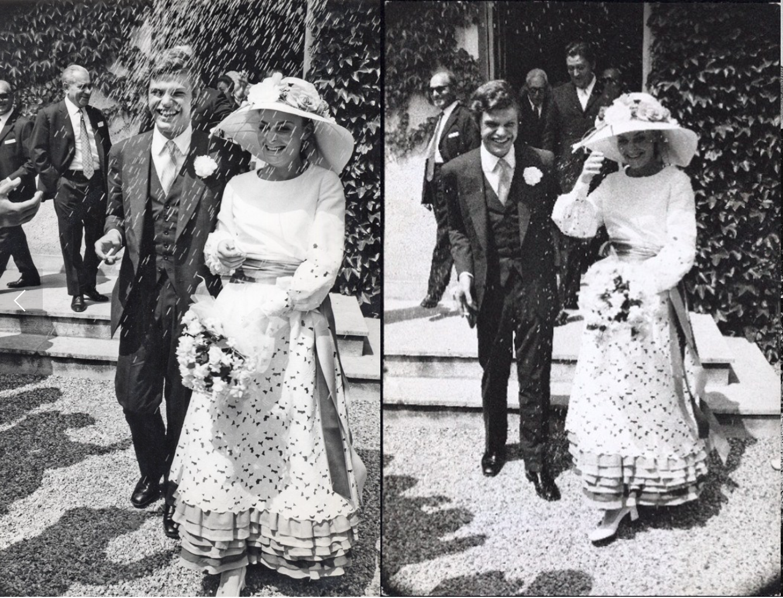 Marshmallow Weddings: DVF'S Ruffles & Lace