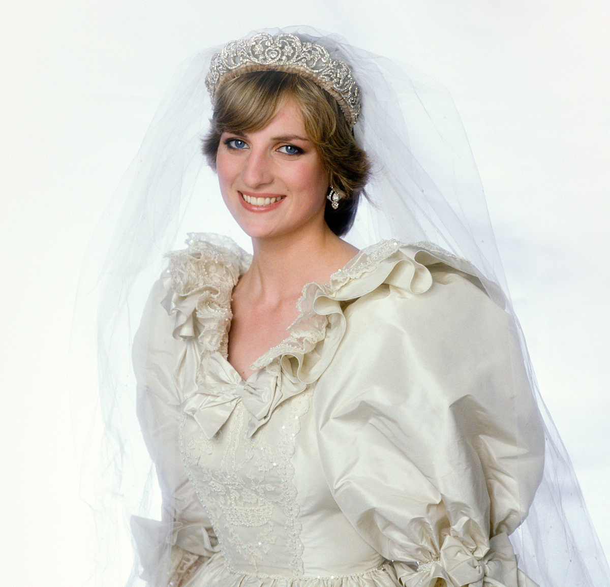 princess diana on her wedding day, 1981