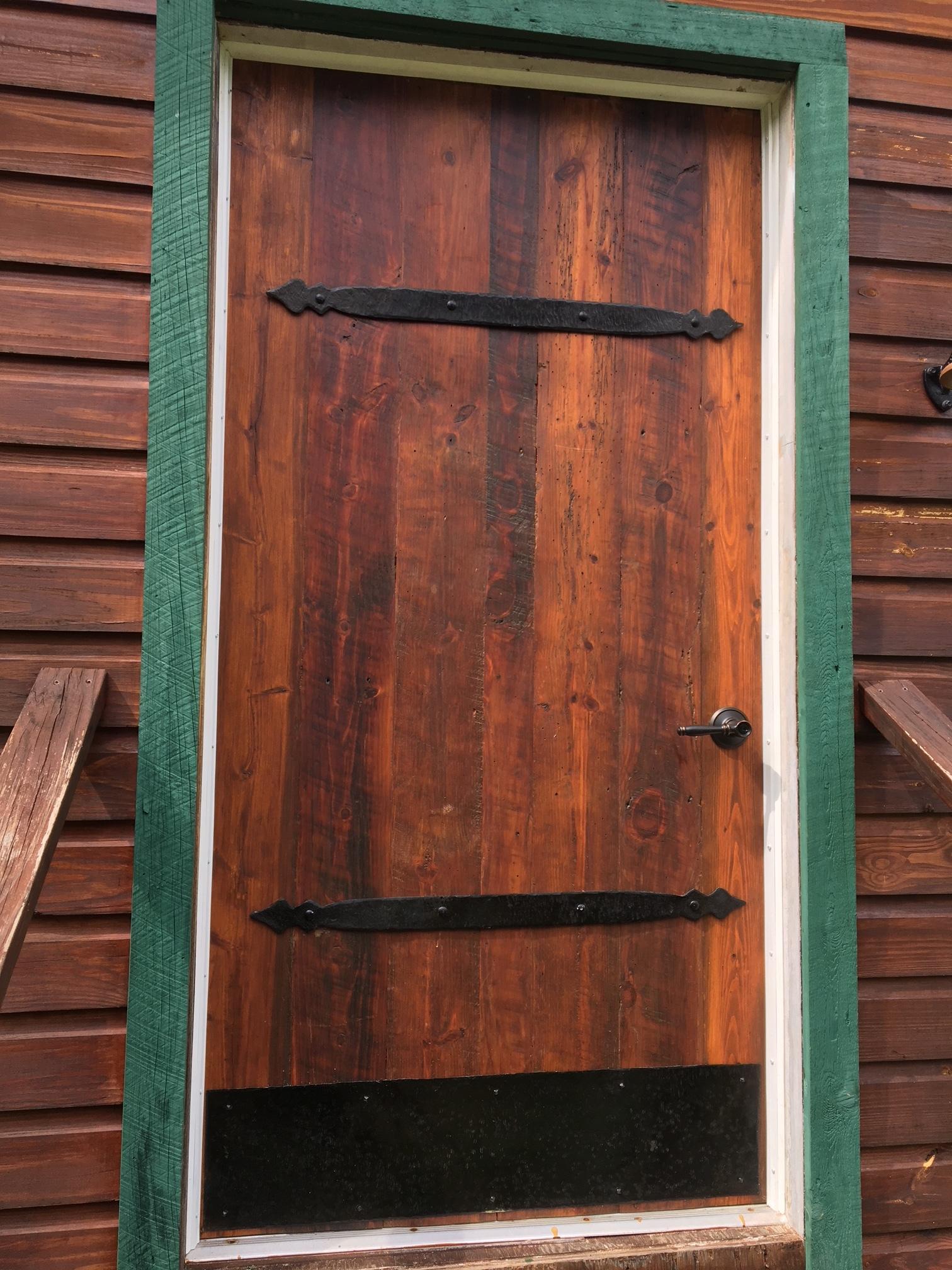 Barn Door Straps & Kick plate
