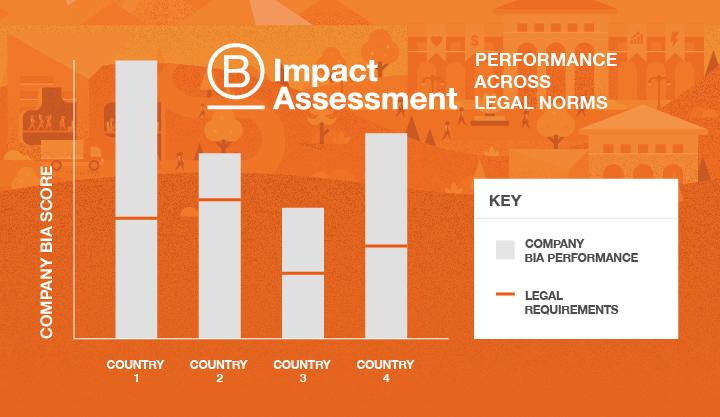 法律規範因國家而異,為協助企業績效被通用衡量標準所評估,BIA評估涵蓋了這些規範的主題和問題。