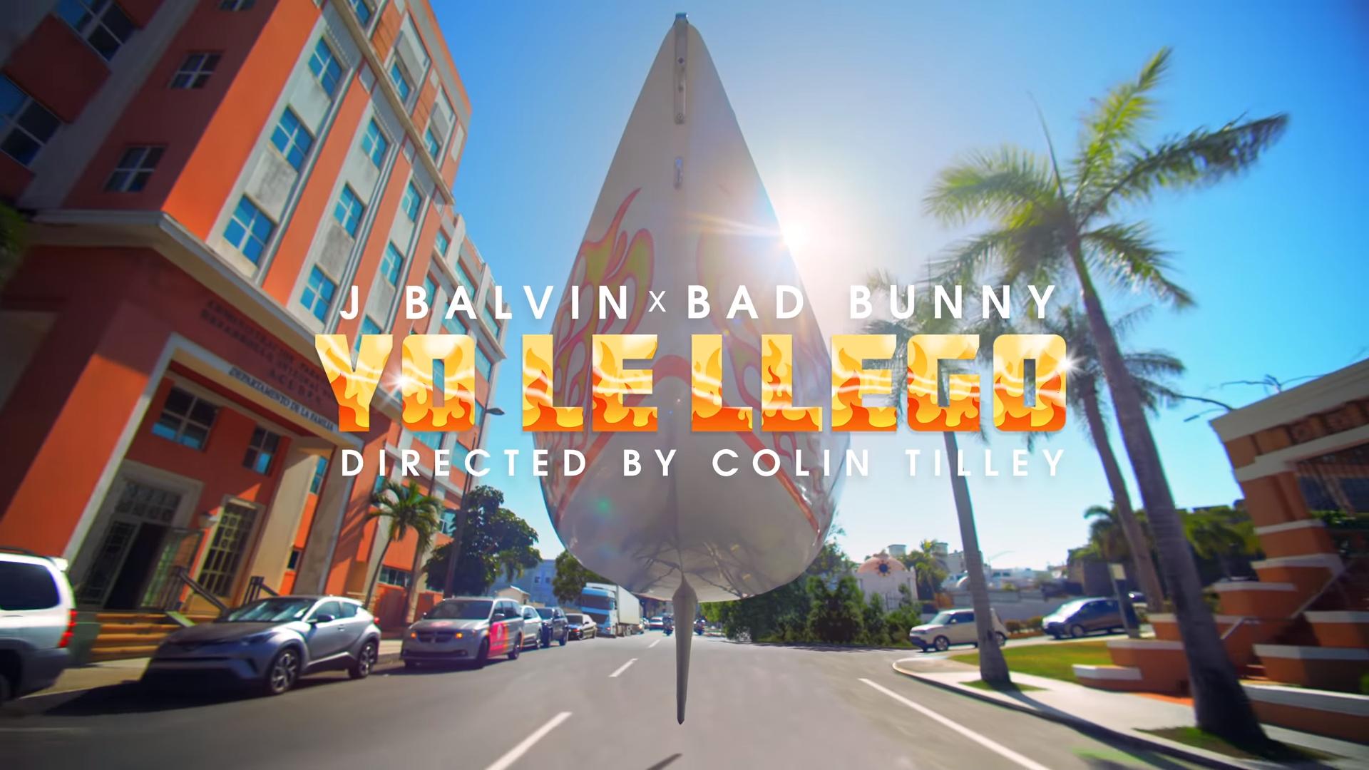 "J Balvin x Bad Bunny - ""Yo Le Llego"""